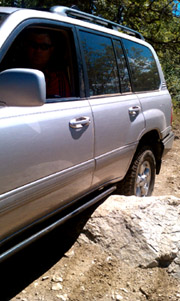 landcruiser 100 rock sliders