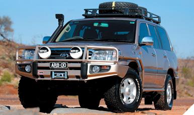 100 Series Landcruiser Lifts Kit: Old Man Emu 100 Series Landcruiser