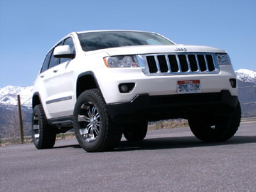 2011 Grand Cherokee lift kit