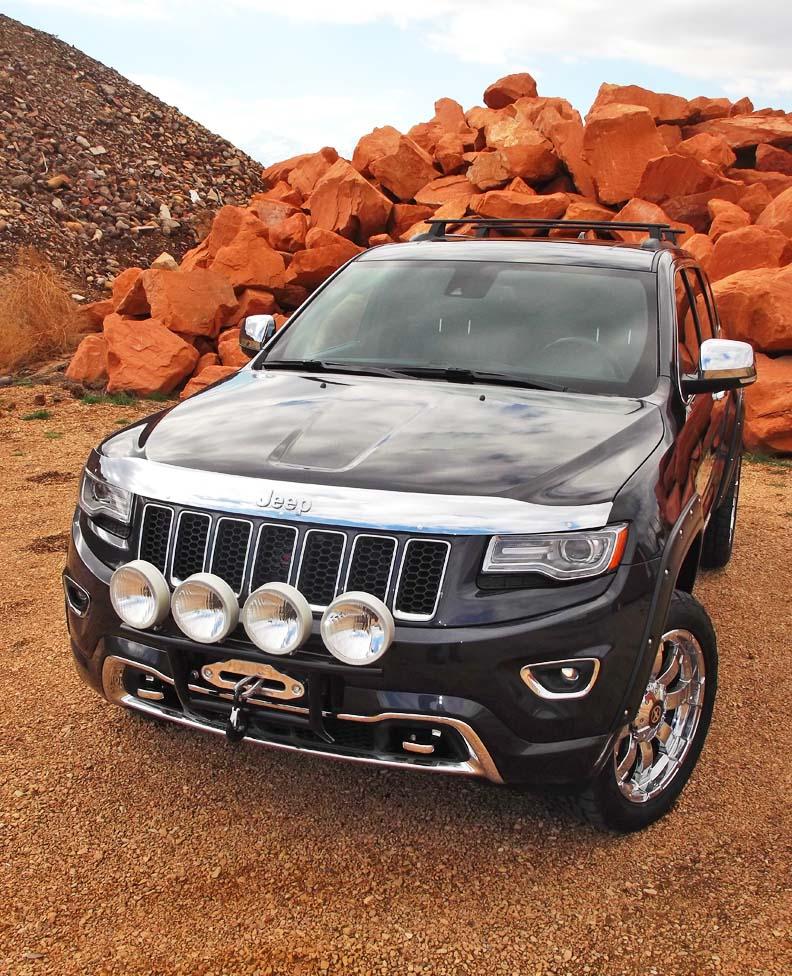 Jeep Cheroker: 2014 Jeep Grand Cherokee Bumper Kits, WK2
