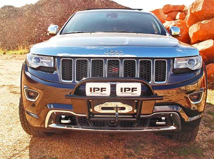 New Grand Cherokee Bumpers / Winches