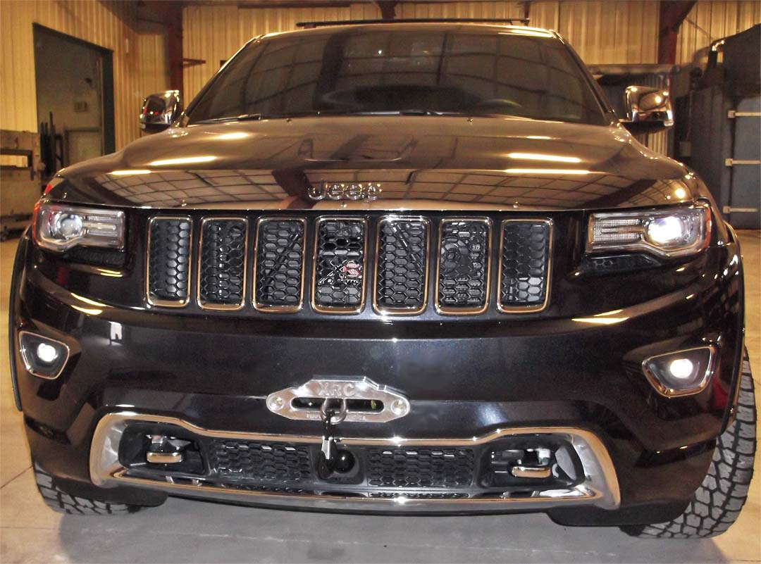 2014 Jeep Grand Cherokee Bumper Kits Wk2 Winch Wiring Mount