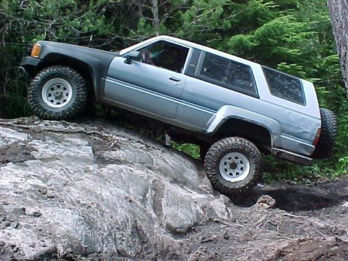 Toyota 4runner Lifted Pictures. 4Runner, 1986-1989, 2quot; lift