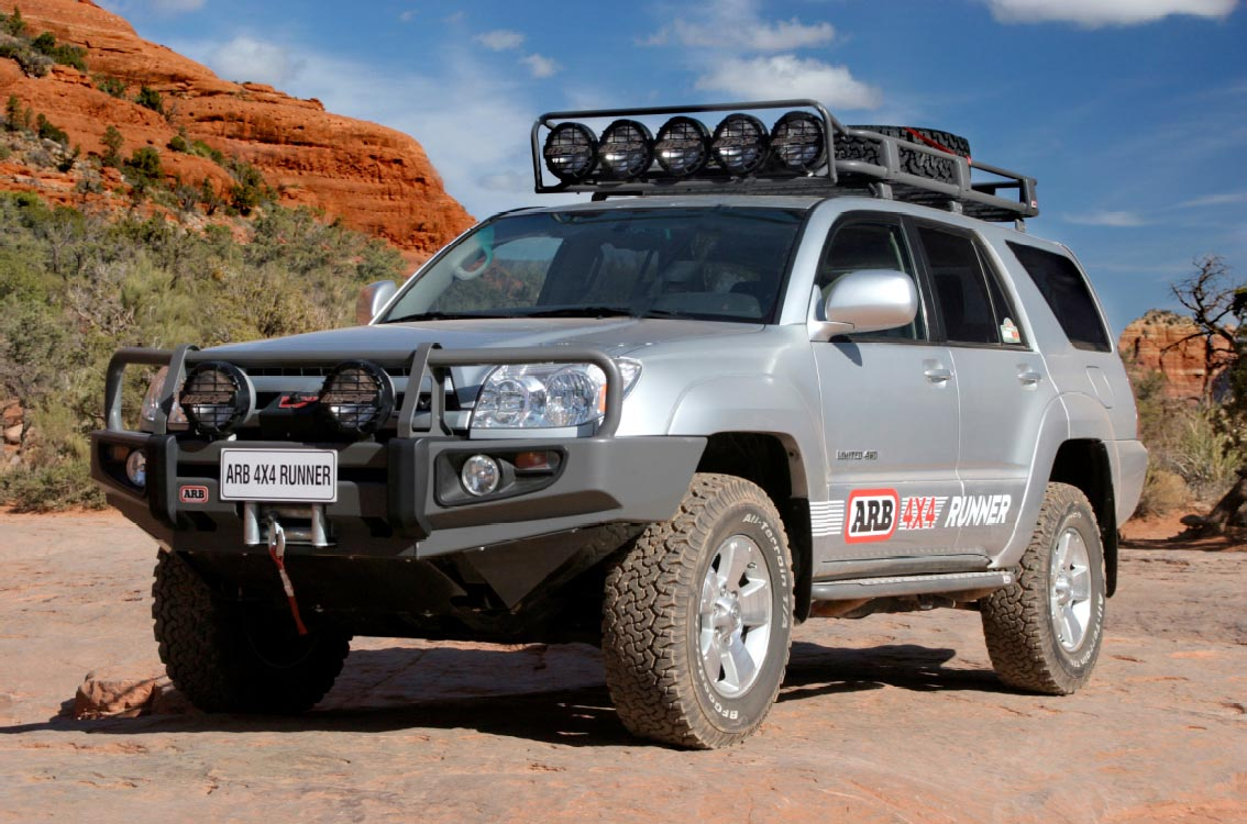Arb bull bar bumper and warn winch 4runner arb bull bar aloadofball Image collections