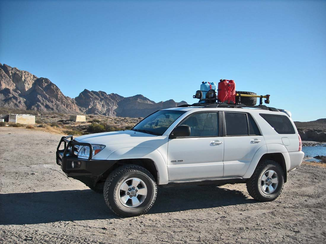 4runner Roof Rack 4runner Roof Rack Tire Mount Carrier