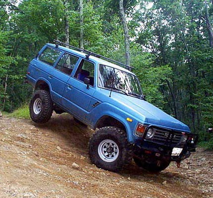 FJ60 Lift Kit: Old Man Emu FJ60 Lift kit