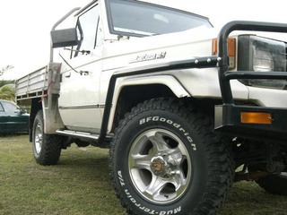 Toyota 70, 75 series Landcruiser lifts, suspension, accessories at