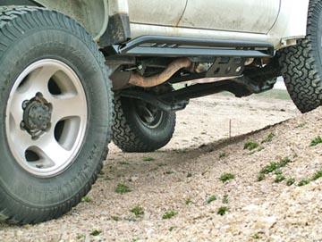 80 series rock sliders