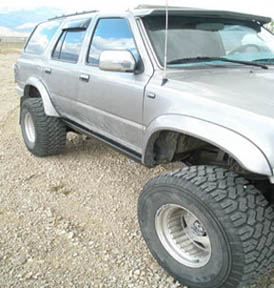 4runner Rock sliders; 2nd generation 4runner