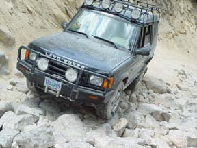 Land Rover Discovery ARB bull bar