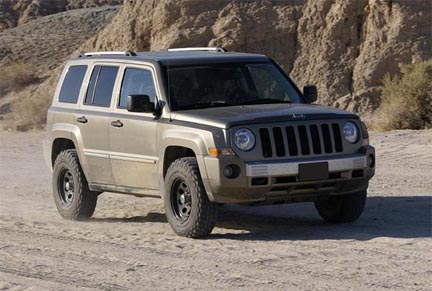 Jeep Patriot Parts Patriot Offroad Parts