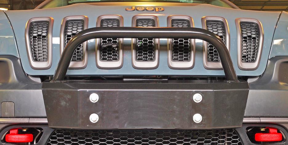 Jeep Cherokee 2014 And Newer Bumper Kit Winch Kits