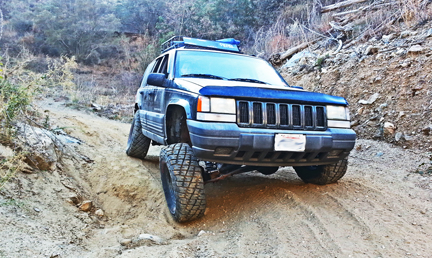 ZJ Grand Cherokee lift kit