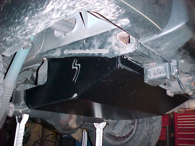 Grand Cherokee Gas Tank Skid Plate 93 98 Grand Cherokee
