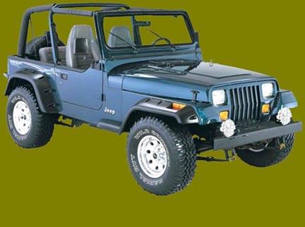 1995 jeep wrangler yj. Wrangler, thru 1995