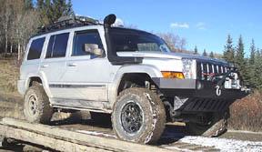 2006 Jeep Commander Off Road Parts