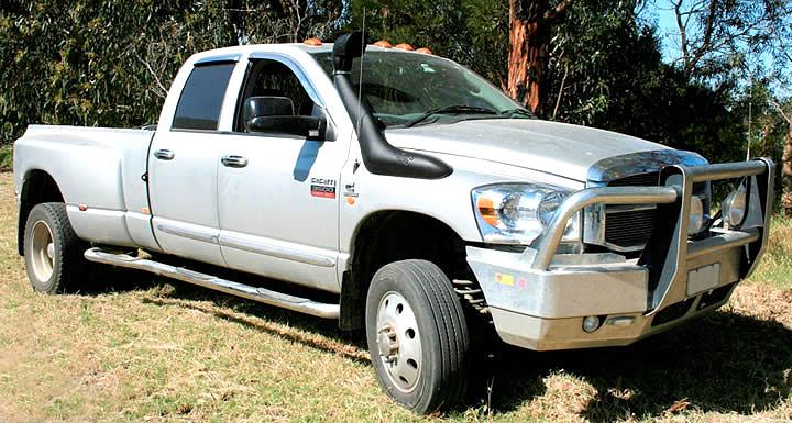 Airflow Dodge on 1999 Dodge Power Wagon