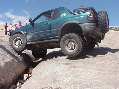 Isuzu Rodeo Lift Kit