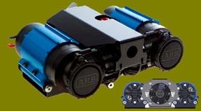 Toyota ARB: ARB air locker, compressor, stainless steel air hose