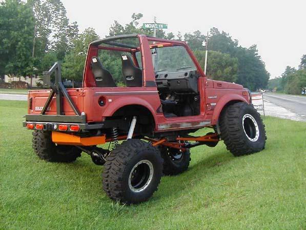 SPARE TIRE CARRIER Mount w// Bumpers /& Screws OEM Samurai 94/'-95/'