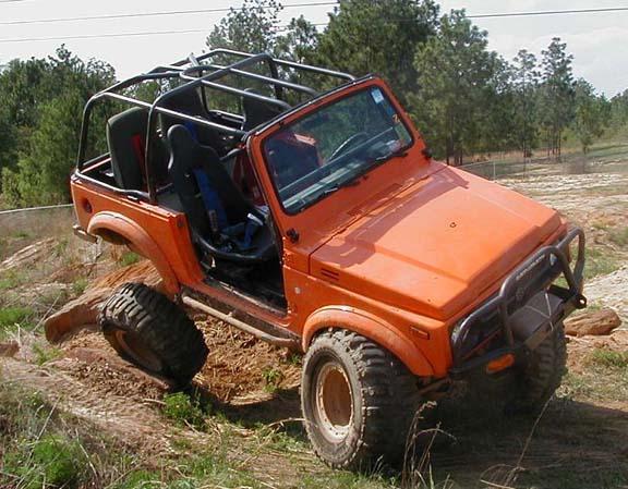 Rocky Road Suzuki Suspension