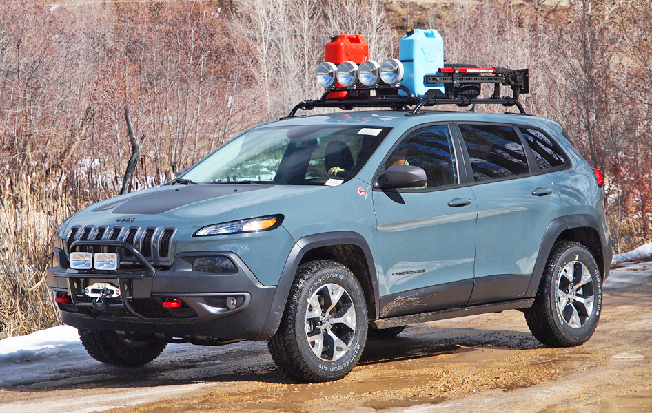 Jeep Kl Lift Kit >> 2014+ Jeep Cherokee KL offroad accessories, 2015