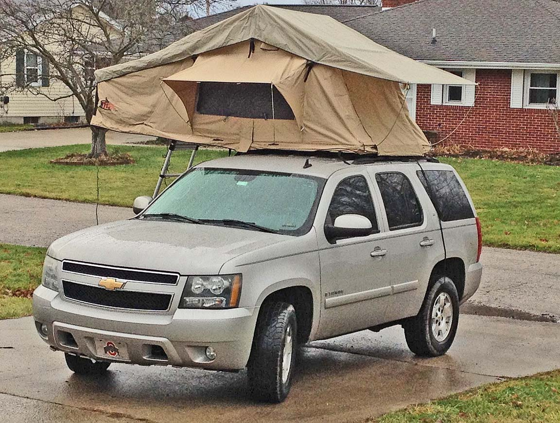 Chevy Yukon And Tahoe Roof Top Tent