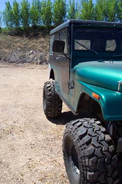 Jeep CJ Rock Sliders