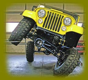 Suspension jeep cj7