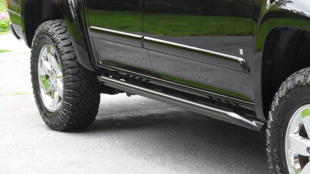 Chevy Colorado Rock Sliders Chevrolet Colorado Rock