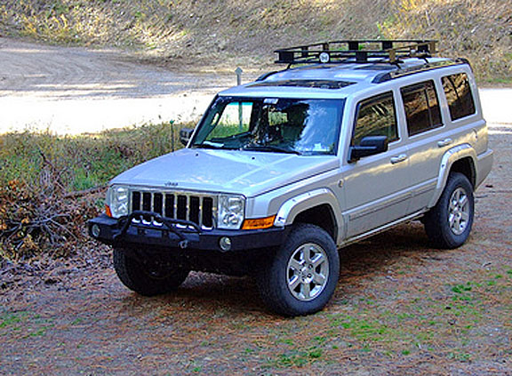Jeep Commander Ome Old Man Emu Lift Suspensions Jeep Commander