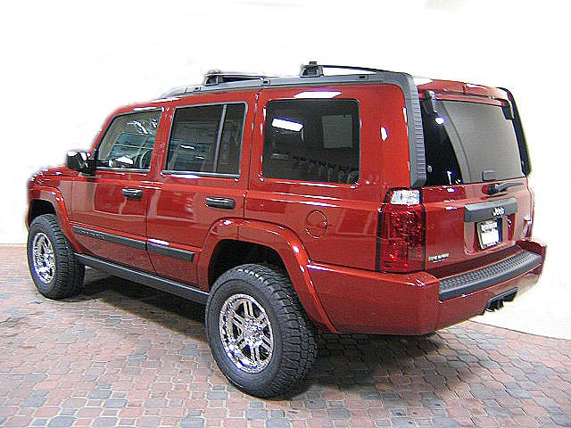 "Lifted Jeep Patriot >> Jeep Commander Lift Kit: 2.25"" Jeep Commander Lift Kit"