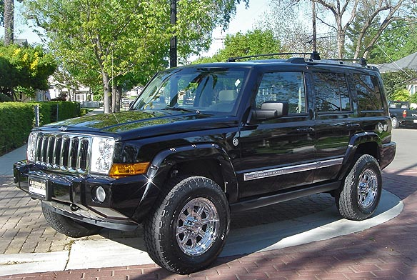 "Jeep Commander Lift Kit: 2.25"" Jeep Commander Lift Kit"