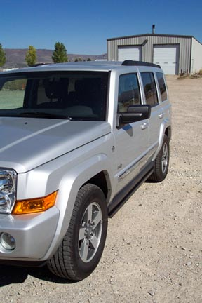 jeep commander rockrails