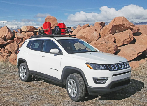 """White Lifted Jeep >> Jeep Compass Lift Kit: 2.125"""" Jeep Compass Lift Kit, all ..."""