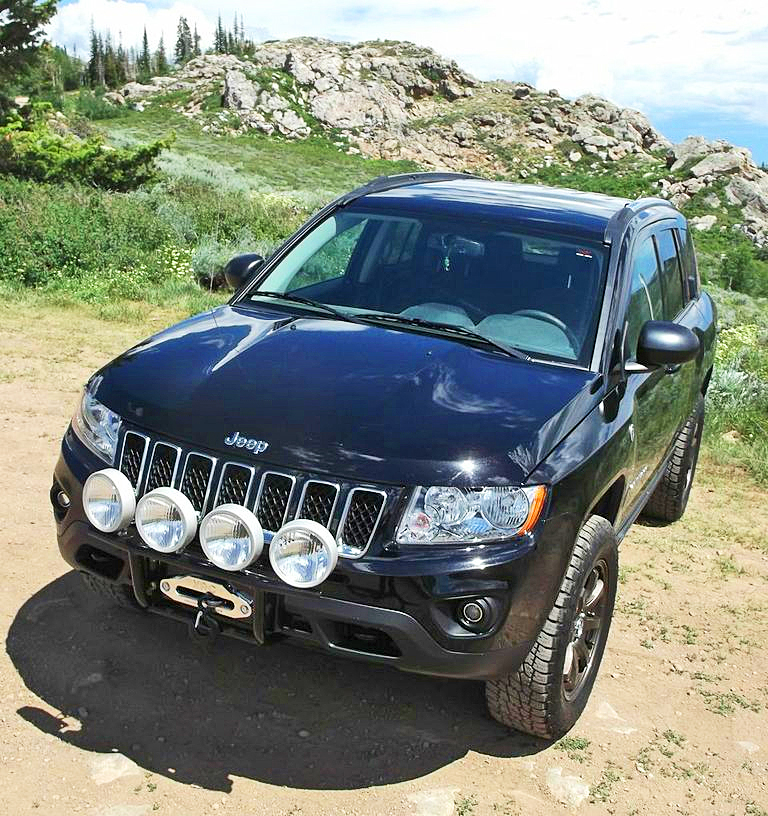 Jeep Compass bumper kits and winch kits for ALL YEARS.