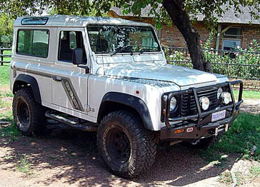 defender 90 ARB bull bar