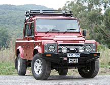 Land Rover Defender ARB bull bar