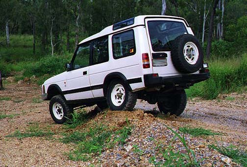 Land Rover Discovery Lift Kit: OME Land Rover Discovery ...