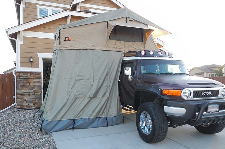 Fj Cruiser Roof Top Tent Toyota Fj Cruiser Roof Top Tent