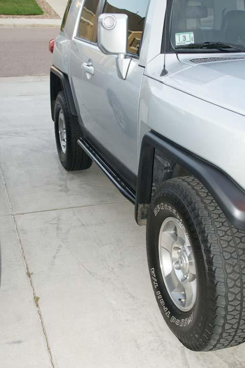 Toyota Little Rock >> FJ Cruiser Rock Sliders: Toyota FJ Cruiser Rock Sliders ...