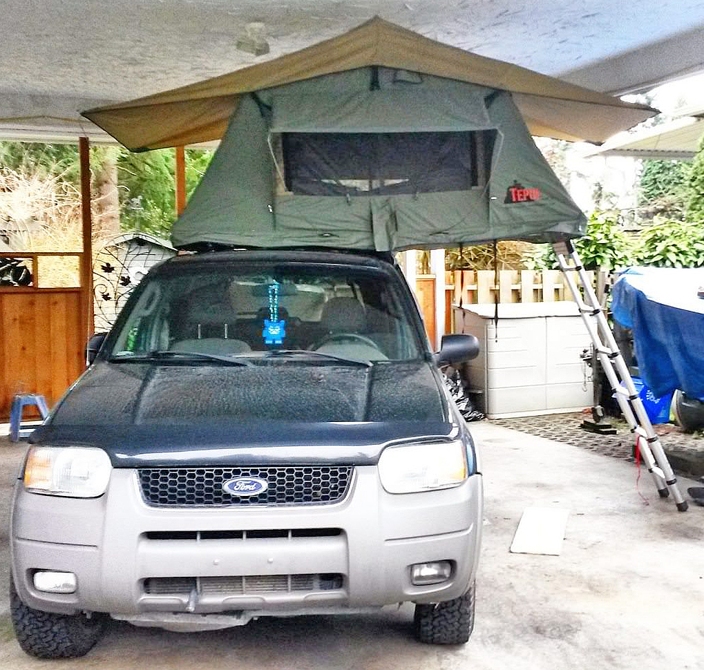 Ford Escape Roof Rack >> Ford Escape Roof Top Tent: Escape Rooftop Tent, Mazda Tribute