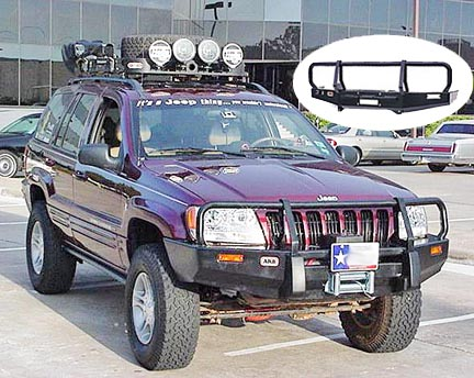 Jeep Grand Cherokee Bumpers