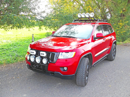 WK2 Jeep Grand Cherokee Winch Mount Bumper