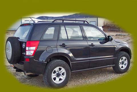 Sidekick Tracker Grand Vitara Accessories