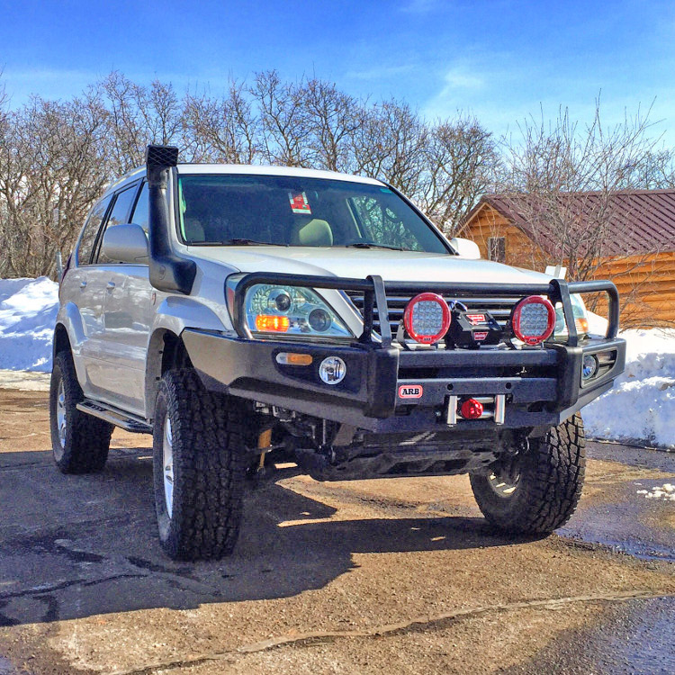 GX 470 Lift Kit: Old Man Emu GX470 Lift Kit
