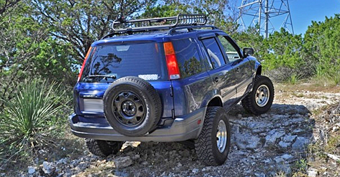 CRV Lift Kit: Honda CRV Lift Kit and Components