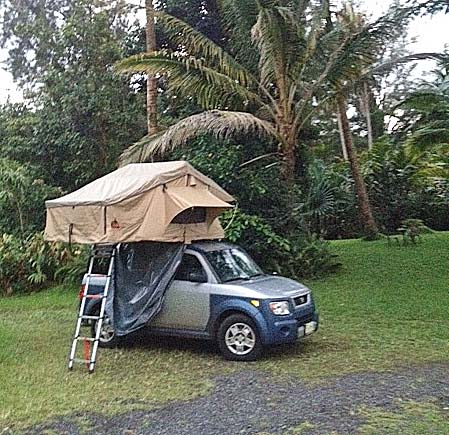 Honda Roof Top Tent Honda Element Crv Roof Top Tents Pilot