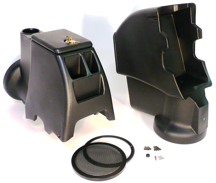 Intra Pod on Jeep Wrangler Tj Center Console Subwoofer