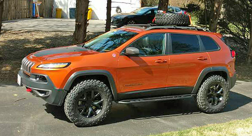 Jeep Renegade Trailhawk Lift >> Jeep Cherokee KL Lift Kit: 2014 + Jeep Cherokee KL Lift Kit